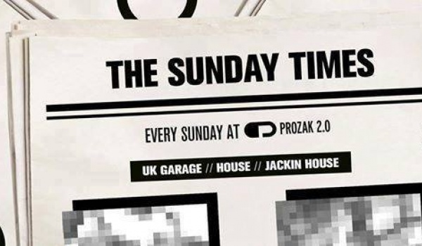 Going.   The Sunday Times x Every Sunday - Prozak 2.0