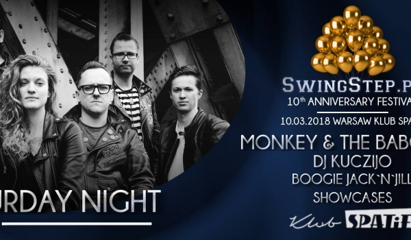 Going. | Saturday: Monkey&The Baboons / DJ Kuczijo / JnJ / SwingStepPL - Klub SPATiF
