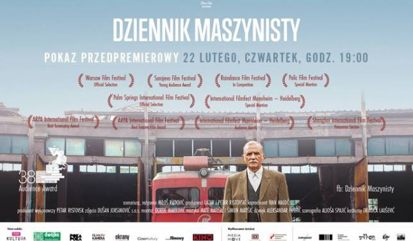 Going. | Dziennik maszynisty - przedpremierowo w kinie Praha!
