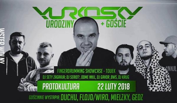 Going.   Yurkosky Urodziny + Goście! - Protokultura - Klub Sztuki Alternatywnej