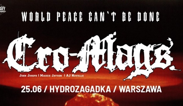Going. | Cro-Mags