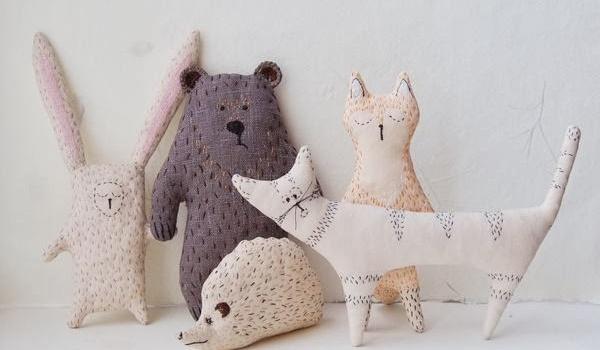 Going. | Soft Toys - warsztaty kroju i szycia zabawek z tkanin - Centrum Spotkania Kultur w Lublinie