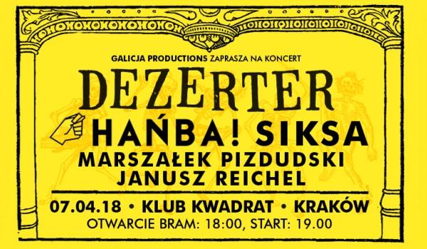Going. | Dezerter / Hańba / Siksa / Marszałek Pizdudski / Janusz Reichel - Klub Studencki Kwadrat