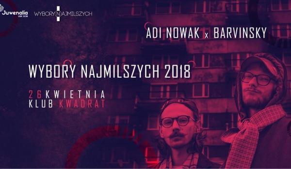 Adi Nowak & barvinsky I Wybory Najmilszych 2018 | Juwenalia UEK