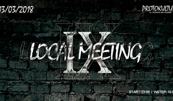 Going. | DirtyDanzig presents: Local meeting 9