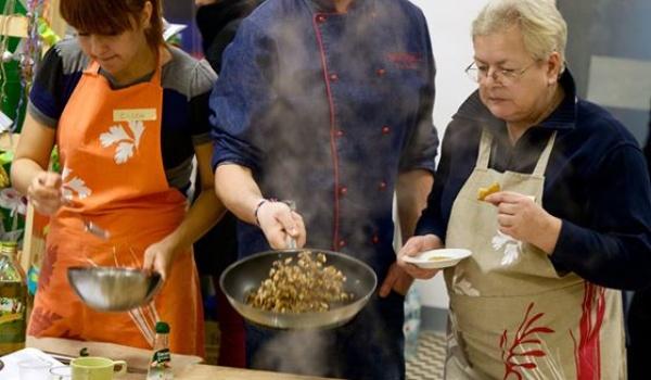 Going.   Wegewarsztat kulinarny z Kuroniem