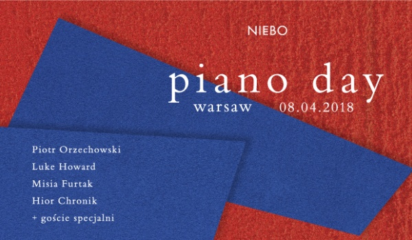 Going. | Piano Day - Niebo