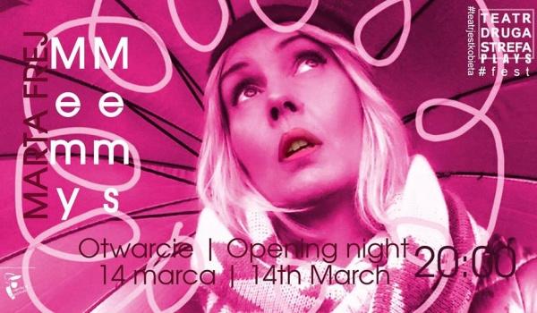 Going. | Marta Frej - Memy / #teatrjestkobieta - Teatr Druga Strefa