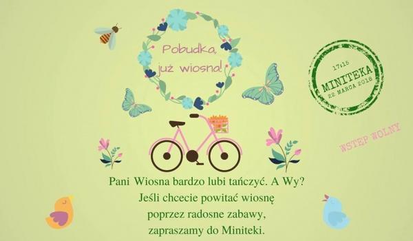 Going. | Pobudka, już wiosna! w Minitece - Biblioteka Sopocka