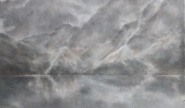 Going. | Magdalena Chomiak. Szkice akwarelowe i pastele - wernisaż - Galeria 011