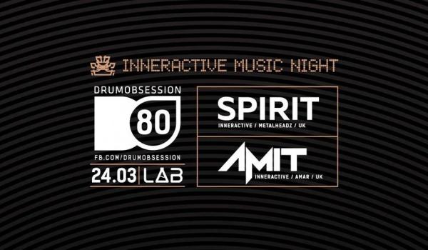 Going. | DrumObsession #80: Spirit & Amit (Inneractive Music Night) - Projekt LAB