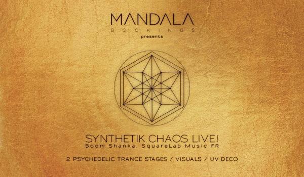 Going. | Mandala Bookings Launch Event w/Synthetik Chaos! (Bom Shanka,FR) - Szpitalna 1