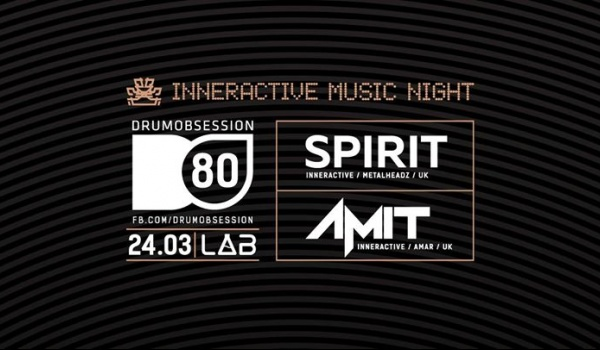 Going. | DrumObsession #80: Spirit & Amit (Inneractive Music Night) - Projekt LAB