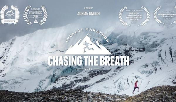 Going.   Wrocław - trzeci pokaz kinowy filmu Chasing the Breath - Kino Nowe Horyzonty