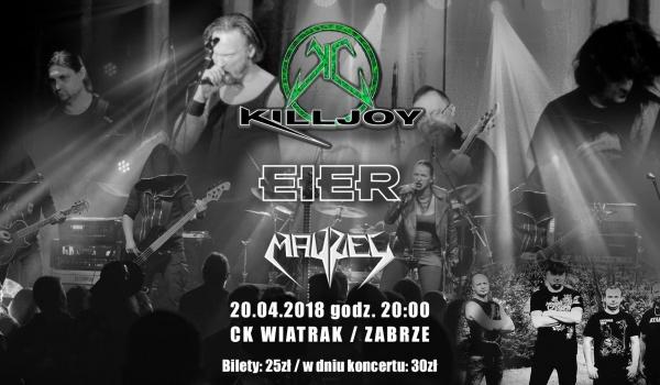 Going. | Killjoy / Eier / Mayzel - Klub CK Wiatrak