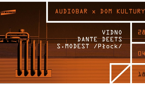 Going. | Audiobar x Dom Kultury - Dom Kultury Lublin