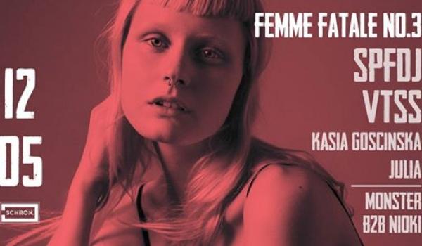Going.   Femme Fatale no.3 : SPFDJ (Berlin) - Schron