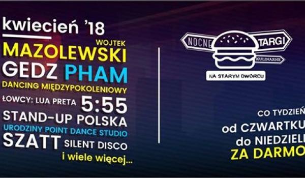 Going. | Nocne Targi Kulinarne na Starym Dworcu: Kwiecień '18 - Dworzec Letni PKP
