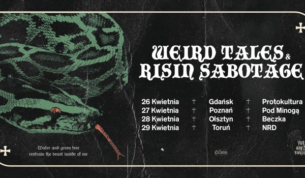 Going. | Risin Sabotage + Weird Tales - Protokultura - Klub Sztuki Alternatywnej