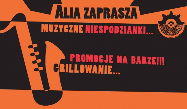 Going. | Alia zaprasza - Mechaniczne Pomarańcza