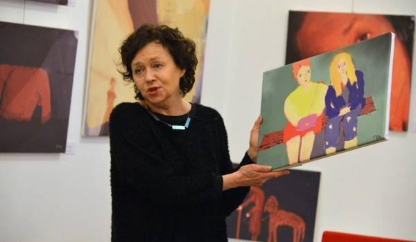 Going. | Joanna Szczepkowska – wystawa malarstwa, rysunku, poezji - Nowohuckie Centrum Kultury