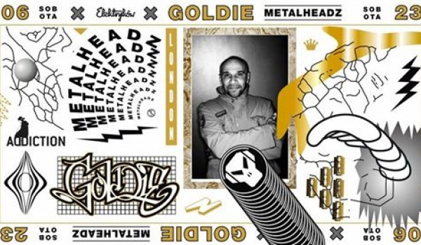 Going. | Goldie (Metalheadz | UK) - Ulica Elektryków
