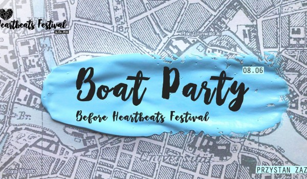 Going. | Boat Party | B4 Heartbeats Festival - ZaZoo Beach Bar