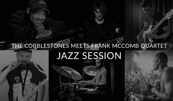 Going. | The Cobblestones meets Frank McComb Quartet Jazz Session - BARdzo bardzo
