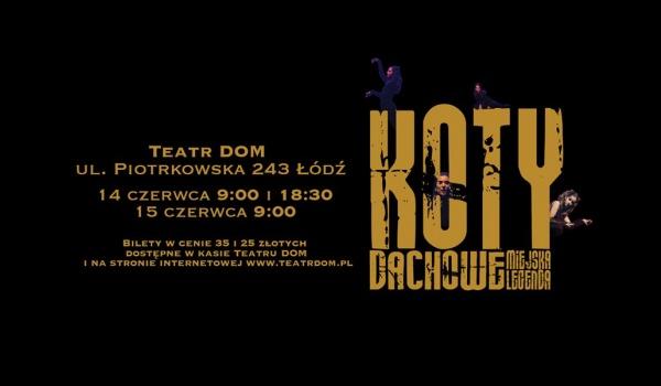 Going. | Koty dachowe – legenda miejska - Teatr DOM
