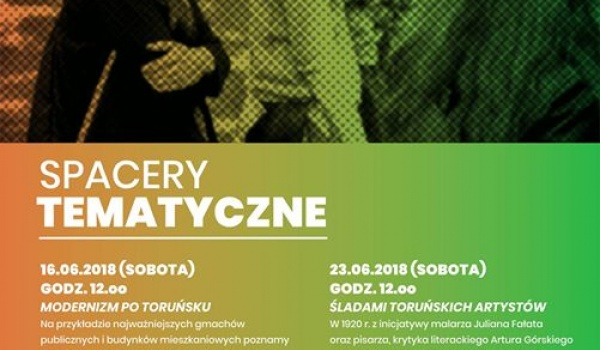 Going. | Spacery tematyczne: śladami toruńskich artystów - Centrum Literatury CSW