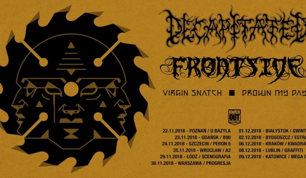 Going. | KO Tour - Decapitated, Frontside + VS, DMD - Scenografia
