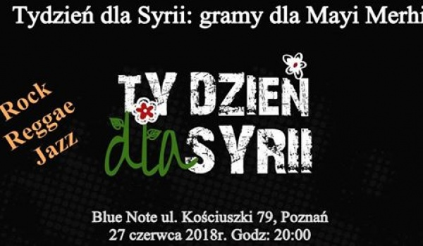 Going. | Gramy dla Mayi Merhi - Blue Note Poznań