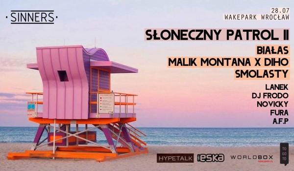 Going. | Słoneczny Patrol II & Białas/ Malik Montana/ Smolasty - WakePark Wrocław