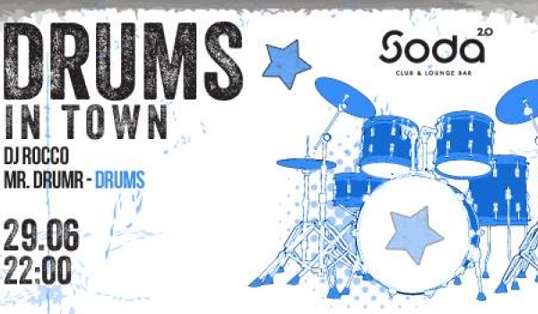 Going. | Drums in Town - DVJ ROCCO i MR DRUMR - SODA 2.0 club & lounge bar