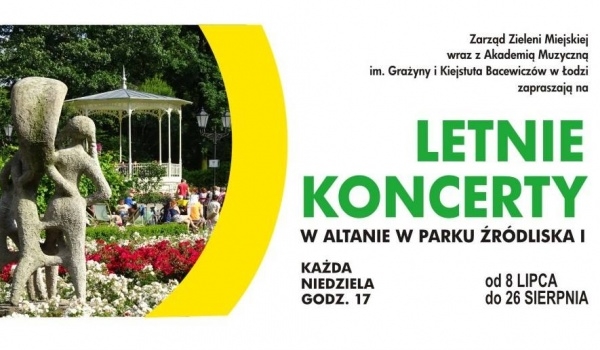 Going.   Letnie Koncerty w Altanie - Park Źródliska Łódź