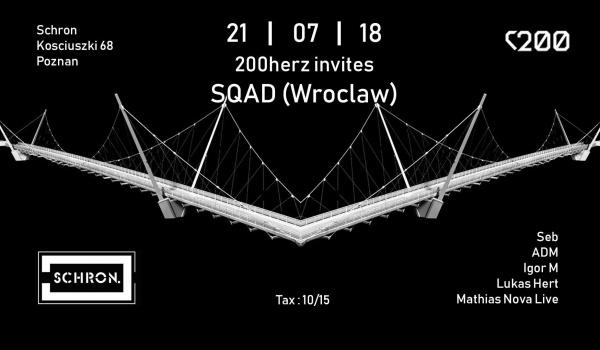 Going. | 200herz inv SQAD (Wrocław) - Schron