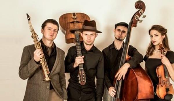 Going.   Muzyczne dachowanie: koncert Grand Slam Quartet - PROM Kultury Saska Kępa