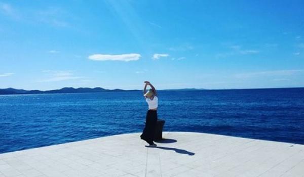 Going.   Joga na Tamce - Wyspa Tamka