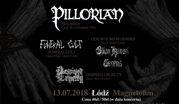 Going. | Pillorian / Funeral Cult / Odium Humani Generis / Despised Cruelty - Magnetofon