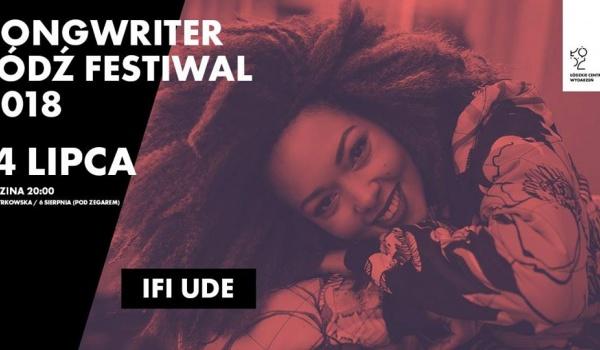 Going. | Songwriter Łódź Festiwal: Ifi Ude - Woonerf - Podwórzec Miejski