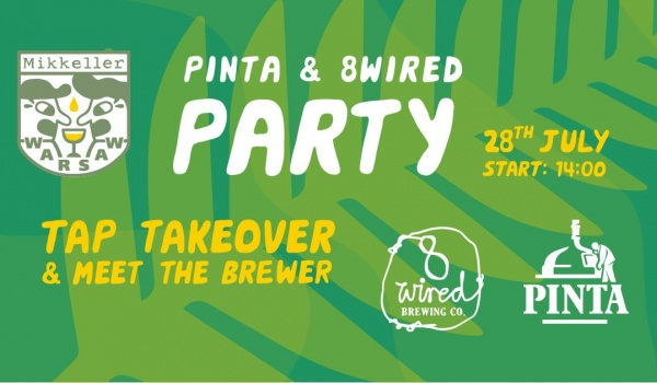 Going. | PINTA & 8Wired Party! - Mikkeller Bar Warsaw