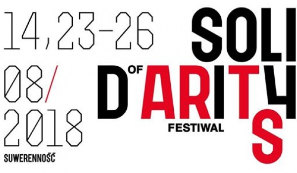 Going. | Solidarity Of Arts 2018 - Europejskie Centrum Solidarności