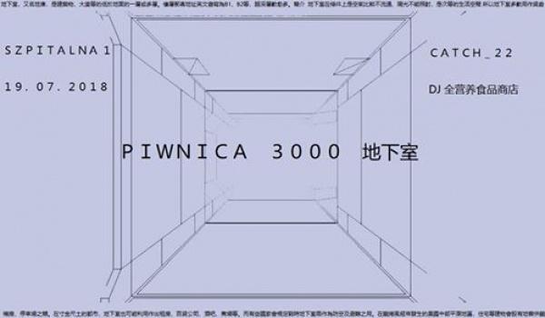 Going. | Piwnica 3000 地下室: Zdrowa Żywność, Catch_22 - Szpitalna 1