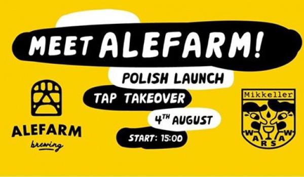 Going. | AleFarm - Polish Launch & Meet the Brewer! - Mikkeller Bar Warsaw