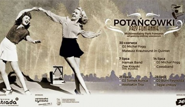 Going. | Potańcówki przy Fontannie 2018 - Multimedialny Park Fontann w Warszawie