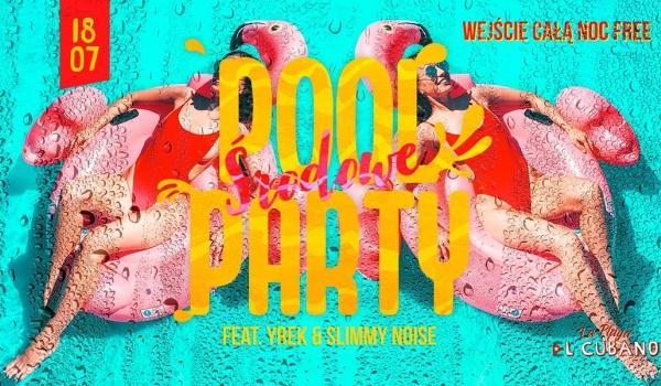 Going. | Środowe Pool Party - Shine Club Lublin
