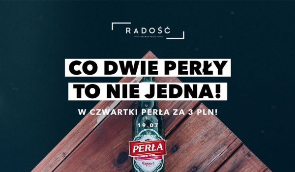Going. | Co DWIE Perły to nie jedna - Radość