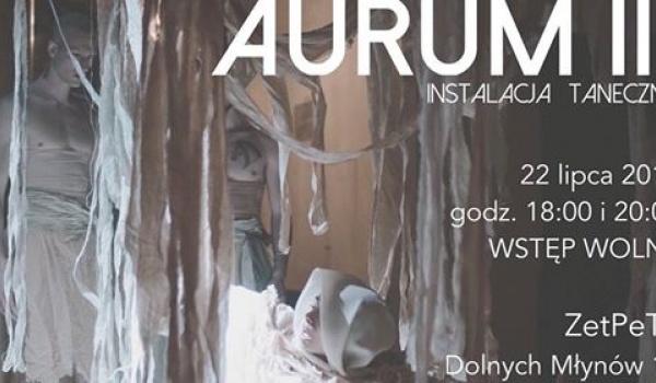 Going. | AURUM III : instalacja taneczna ACE Dance Concept - Zet Pe Te