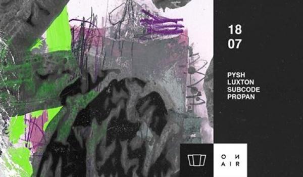 Going. | Smolna Środa: Subcode / Prøpan / Pysh / Luxtone - Smolna