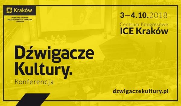 Going. | Dźwigacze Kultury 2018 - Centrum Kongresowe ICE Kraków